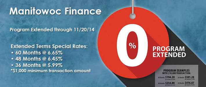 0% Financing Extended