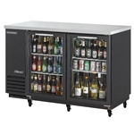Turbo Air Glass Door Bar Back Cooler, 59\
