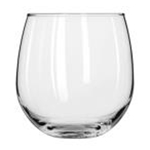 Libbey 222 Vina Stemless Wine Glass 16 1/2 oz. 1 Dz Per Case