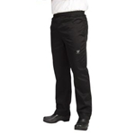 Basic Black Chef\\'\\'s Pants, X-Large