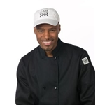 Chef\\'\\'s White Baseball Hat, Adjustable strap