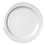 White plate, 9\