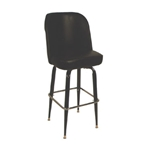 Stool Bucket Seat Bar Black
