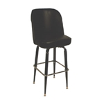 ATS SR4J Bar stool jumbo bucket seat black
