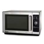 Amana Commercial Microwave with Dial Controls, Medium Duty, 1000 wt.