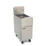 Frymaster Fryer, 50 lb Oil Capacity, Open Pot Design, Nat Gas