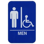 Sign,Men Accessible