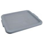Winco PLW-CG HD Dish Box Cover Grey