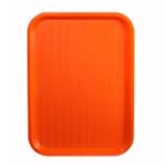 Winco FFT-1014O Fast Food Tray 10x14 Orange