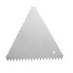 Winco SDC-6 Cake Decorating Comb Stainless Steel     (6 ea. per Pack)