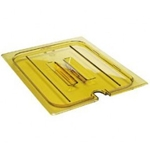 Amber Notched Cover, 1/2 Size