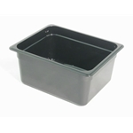 Black Food Pan, 1/2 X 6\