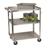 Dish Cart S/S 3 Shelf