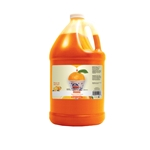 Snow Kone Syrup Gal Orange