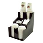 Winco CLSO-2T Cup & Lid Organizer (3 Tiers, 2 Stacks)