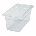 Winco SP7306 Food Pan  Clear 1/3 X 6\