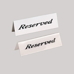 Reserved Sign, 2\