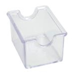 Winco PPH-1C Plastic Sugar Caddy Clear