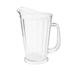 Pitcher,60 Oz Clear Tapered