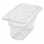 Winco SP7904 Food Pan Clear 1/9 X 4\