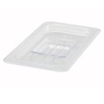 Winco SP7400S Plastic Cover Clear 1/4 Size Solid