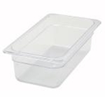 Winco SP7304  Food Pan Clear 1/3 X 4\
