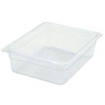 Winco SP7204 Food Pan Clear 1/2 X 4\