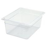 Winco SP7206 Food Pan Clear 1/2 X 6\