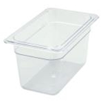 Winco SP7406 Food Pan Clear 1/4 X 6\