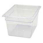 Winco SP7208 Food Pan Clear 1/2 X 8\