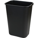 Trash Can Office Brown 10 Gal