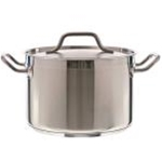 Update SPS-8 S/S 8 qt Stock Pot w/cover Induction Ready