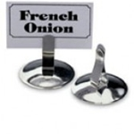 Stainless Steel Card/Menu Holder