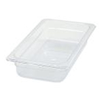 Winco SP7302 Food Pan Clear 1/3 X 2\