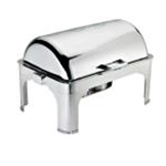 Browne 575175 Chafer 9 Qt. Full Size Rectangular S/S Harmony