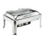 Browne 575162 Chafer 9 Qt. Full Size Rectangular S/S Symphony