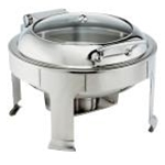 Browne 575163 Chafer 7 Qt. Round  S/S Symphony