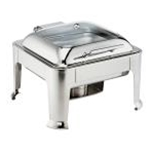 Browne 575164 Chafer 7 Qt. Square 2/3 Size S/S Symphony