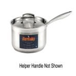 Browne 5724040 Thermalby 10 Qt. Deep Sauce Pan with Helper Handle