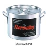 Browne 5815314 Thermalloy 14 Qt. Aluminum Heavy Weight Sauce Pot Cover