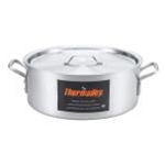Browne 5814424 Thermalloy 24 Qt. Aluminum Heavy Weight Brazier