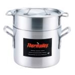 Browne 5813212 Thermalloy 12 Qt. Aluminum Standard Weight Double Boiler