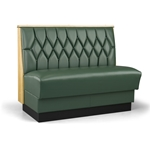 Robertson Furniture Company P520 Americana Series Upholstered Booth Diamond Back