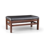 Robertson Furniture W399 Hartwell Series Wooden Booth Bench