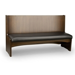 Robertson Furniture W900 Roadhouse Series Wooden Booth