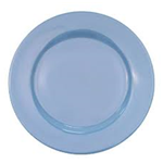 CAC China LV-7-LB Rolled Edge Blue Plate