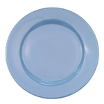 CAC China LV-16-LB Rolled Edge Blue Plate