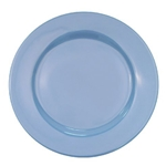 CAC China LV-8-LB Rolled Edge Blue Plate