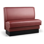 Robertson Furniture Company P100 Patriot Series Upholstered Booth Plain Back