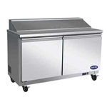 Saturn FB60-24 2-Door Mega-Top Sandwich/Salad Table 61\